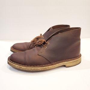 Mens clarks desert boot size 9